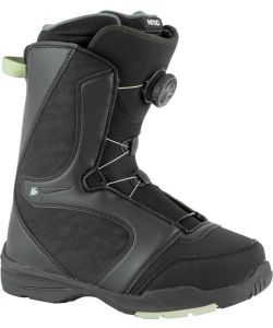 Nitro Flora BOA Black Mint Women's Snowboard Boots
