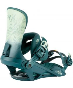 Nitro Ivy Blue Leaf Women's Snowboard Bindings