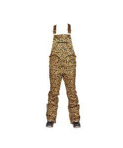 Nitro Loretta Overall Cheetah Γυναικείο Bib Pants