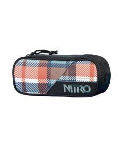 Nitro Pencil Case Meltwater Plaid Θήκη