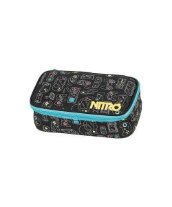 Nitro Pensil Case Xl Blk Gaming