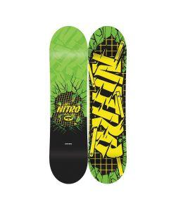 Nitro Ripper Green Kid's Snowboard
