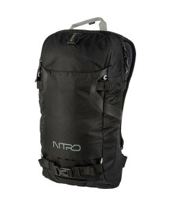 NITRO ROVER 14 JET BLACK BACKPACK