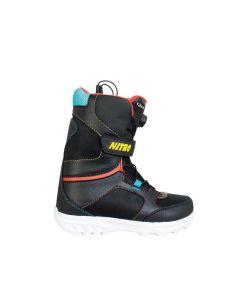 Nitro Rover Qls Black Παιδικές Μπότες Snowboard