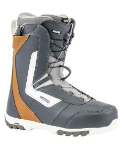 Nitro Sentinel Tls Navy Blue Brown White Ανδρικές Μπότες Snowboard