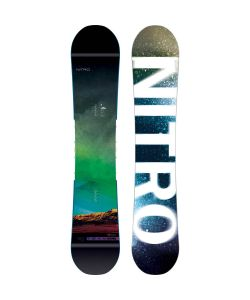 NITRO TEAM EXPOSURE WIDE GULLWING SNOWBOARD