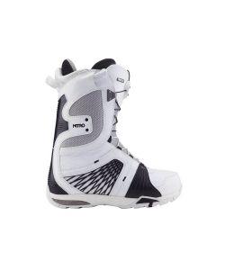 Nitro Team Tls White Black Men's Snowboard Boots
