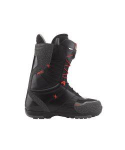 Nitro Ultra Tls Black Elephant-Red Men's Snowboard Boots