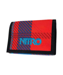 NITRO WALLET PLAID RED-BLUE