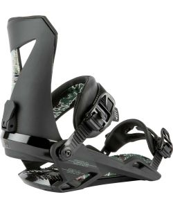 Nitro Zero Black Camo Men's Snowboard Bindings