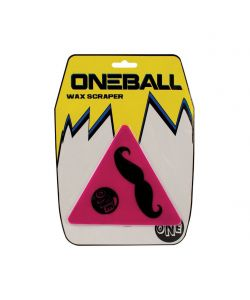Oneball Mustache Triangle Scrapper