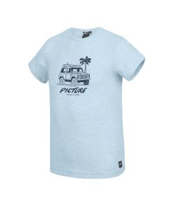Picture Anglet Pale Blue Melange Ανδρικό T-Shirt