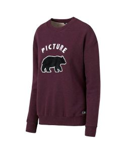 Picture Animal Plum Women's Crew