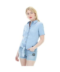 Picture Aria Washed Denim Shirt