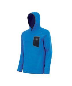 Picture Bake Grid Fleece Picture Blue Men's Midlayer