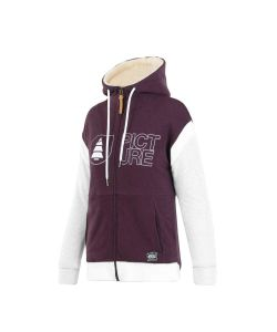 Picture Basement 2.0 Plum Women's Zip Hoodie