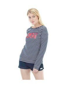 Picture Basement Sailor Dark Blue Women's Long Sleeve T-Shirt
