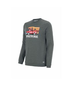 Picture Chuck Crew Dark Grey Melange Men's Crewneck