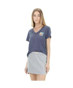 PICTURE DANIA DARK BLUE ΓΥΝΑΙΚΕΙΑ T-SHIRT