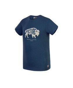 Picture Dawson Dark Blue Melange Men's T-shirt