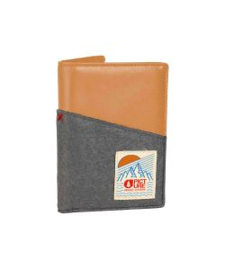 PICTURE DOOMY GREY WOOL WALLET