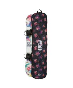 PICTURE FLOWER PRINT SNOWBOARD BAG