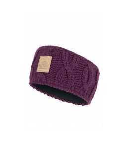 Picture Haven Burgundy Women's Headband