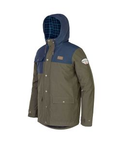 PICTURE JACK DARK ARMY GREEN SNOW JACKET