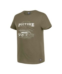 Picture Lifestyle Dark Army Green Ανδρικό T-Shirt