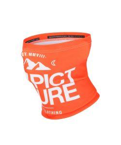 Picture Neckwarmer Orange