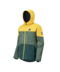 Picture Object Lynchen Forest Green Men's Snow Jacket