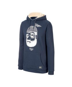 Picture PineCliff Plush Dark Blue Men's Hoodie