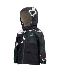 Picture Snowy Black Painter Youth Snow Jacket