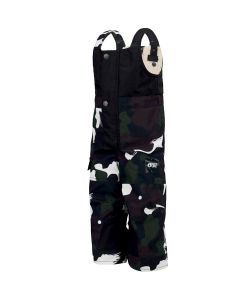 Picture Snowy Black Painter Youth Snow Pants