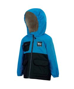 Picture Snowy Blue Youth Snow Jacket