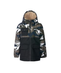 Picture Snowy Camountain Kids Snow Jacket