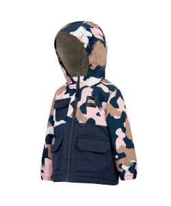 Picture Snowy Pink Painter Youth Snow Jacket