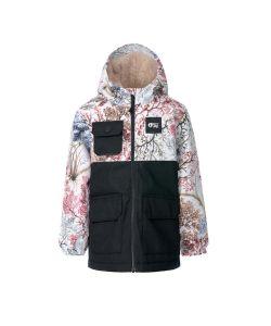 Picture Snowy Shrub Kids Snow Jacket