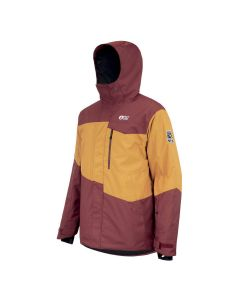 Picture Styler Camel Ketchup Men's Snow Jacket