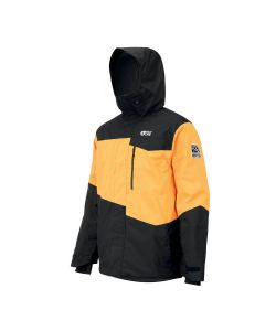 Picture Styler Yellow Black Ανδρικό Μπουφάν Snowboard