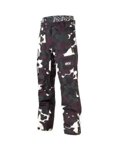 PICTURE UNDER BLACK PAINTER SNOW PANT