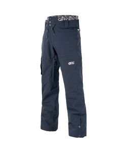PICTURE UNDER DARK BLUE SNOW PANT