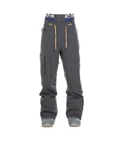 PICTURE UNDER DENIM BLACK SNOW PANTS