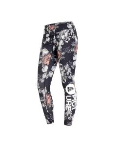 Picture Xina Peonies Black Women's Thermal Pants