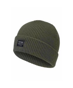Screw Loose Knitted Beanie Black