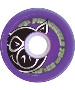 Pig Voyager Purple 70mm Ρόδες Skate