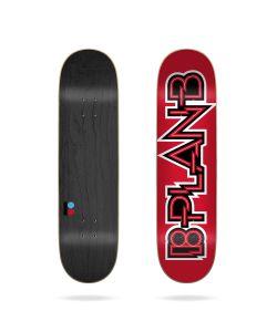 "Plan B Bolt 8.125"" Skate Deck"