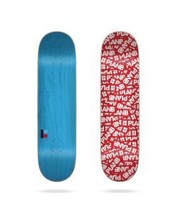 "Plan B Patch 8.375"" Σανίδα Skateboard"