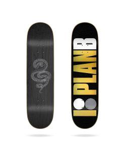 "Plan B Snake Skin 8.0"" Skateboard Deck"