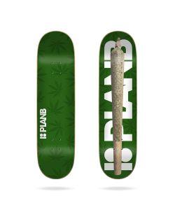 "Plan B Spliff 8.0"" Skateboard Deck"